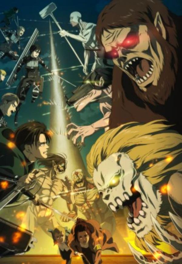 Attaque des Titans Saison 4 VOSTFR Shingeki no Kyojin 4